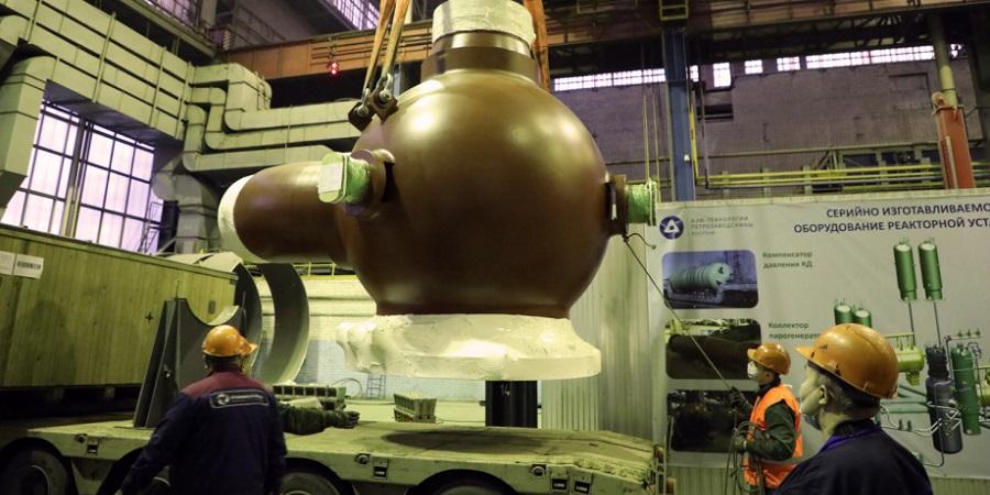 Петрозаводскмаш отгрузил корпуса насосов для АЭС Руппур