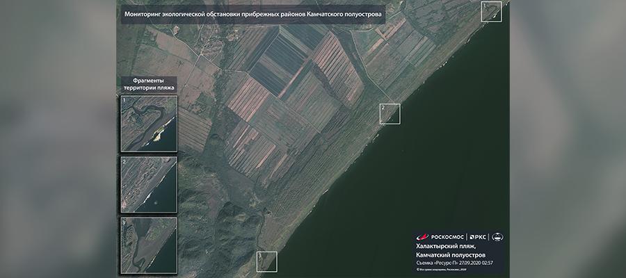 Спутниковые снимки и причины загрязнения. Власти Камчатки изучают различные версии загрязнения воды