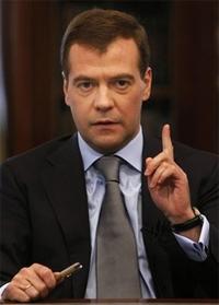 """Дмитрий Медведев - Киев: """"Газовый вопрос у нас урегулирован"""""""