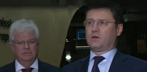 А.Новак буднично провел в г Брюсселе 3-стороннюю встречу РФ - ЕС - Украина по газоснабжению
