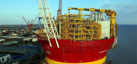 Китай в ближайшее время передаст Dana Petroleum плавучую установку для добычи, хранения и отгрузки нефти Сиван-6