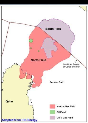 Иран выведет на проектную мощность на месторождение Южный Парс в 2015 г