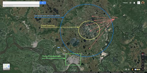 Утвердили план развития. Роснефть  в течение 2018-2027 гг пробурит более 2400 скважин на Самотлорском месторождении