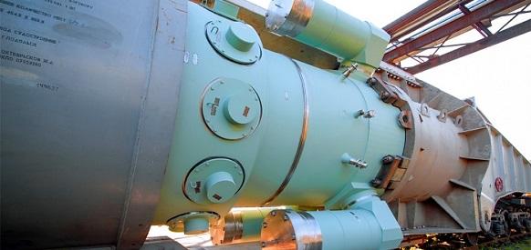 Атомэнергомаш отгрузил первый реактор РИТМ-200 для ледокола Урал
