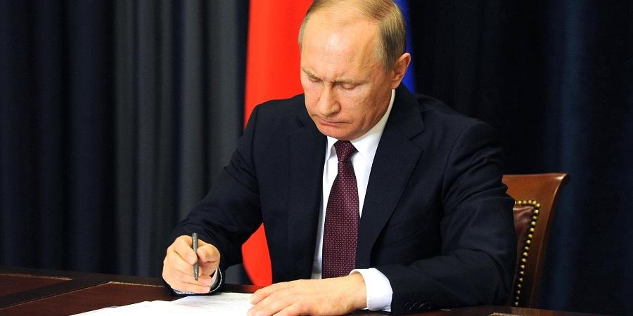 В. Путин утвердил изменение срока предоставления участков недр в Архангельской области