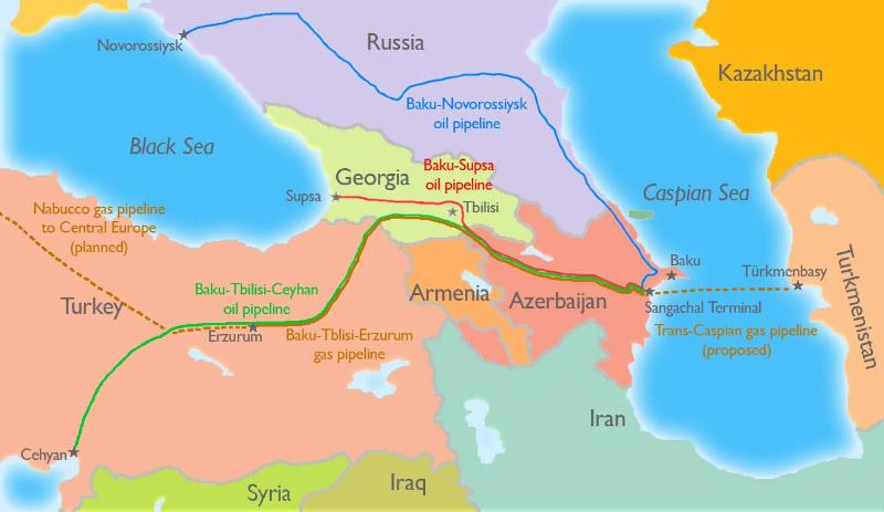 История развития нефтяной отрасли Азербайджана