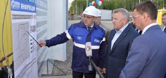Новую газораспределительную станцию и трубопровод ввели в эксплуатацию в г Комсомольске-на-Амуре