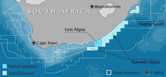 Statoil adds exploration licenses in South Africa