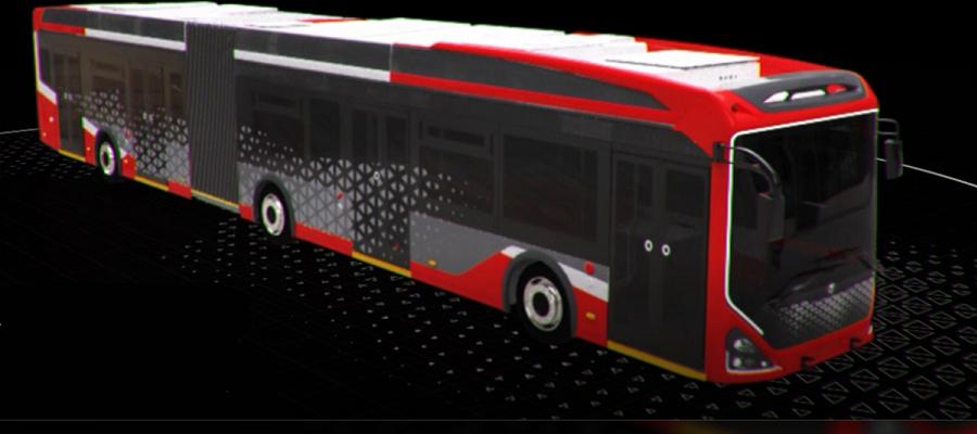 В г. Санкт-Петербург состоялся показ нового электробуса «Пионер»