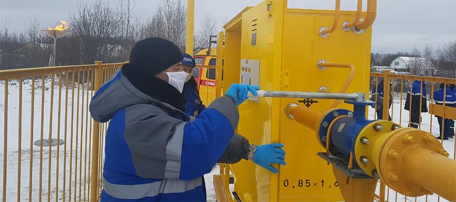 В с. Абалак Тюменской области введен в эксплуатацию новый газопровод
