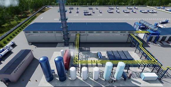 Газпром создаст в Приморском крае хаб для хранения и перегрузки гелия с Амурского ГПЗ