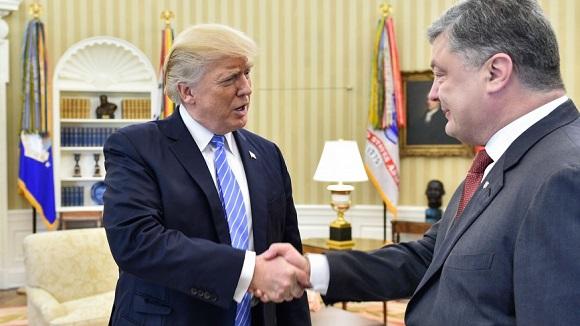 1 день из жизни П. Порошенко в Белом Доме: Санкции в отношении России будут продолжены