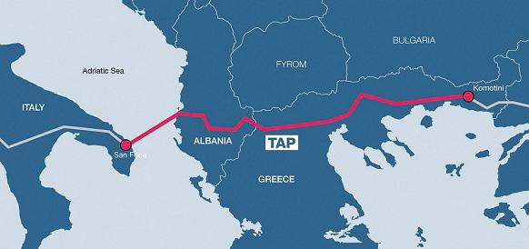 Все по графику. Строительство магистрального газопровода TAP завершено уже почти на 40%