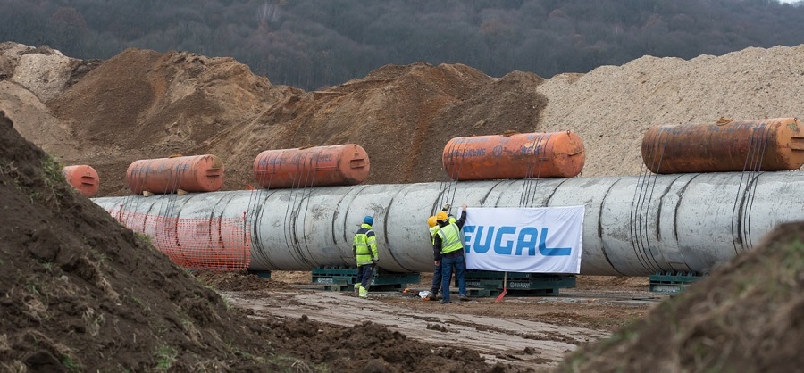 Дело – труба. В Германии экологические активисты забрались в трубы Северного потока – 2, протестуя против строительства газопровода