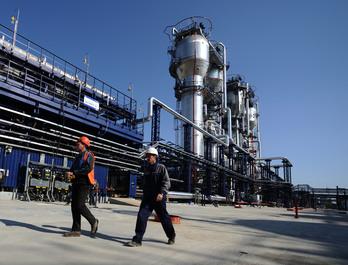 1-ый томский НПЗ выходит на мощность в 1 млн.т. сырья/год
