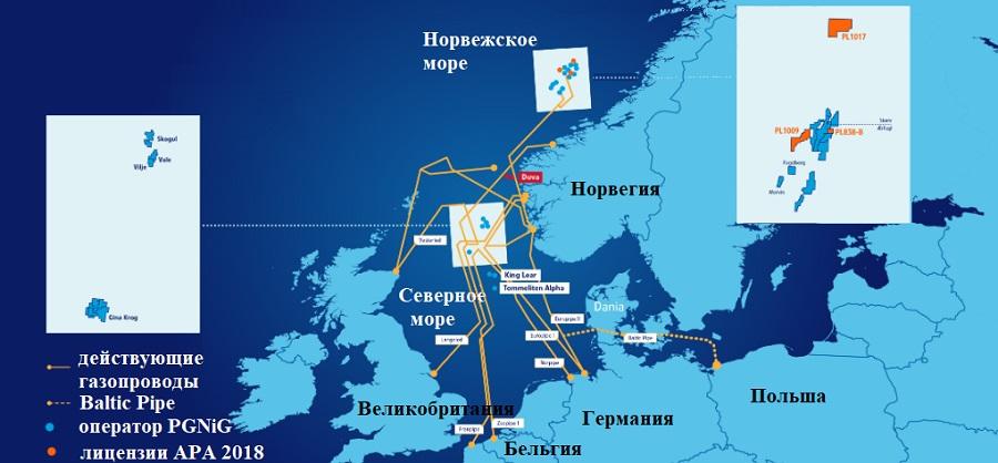 PGNiG увеличивает долю участия в норвежском месторождении Duva на шельфе Северного моря