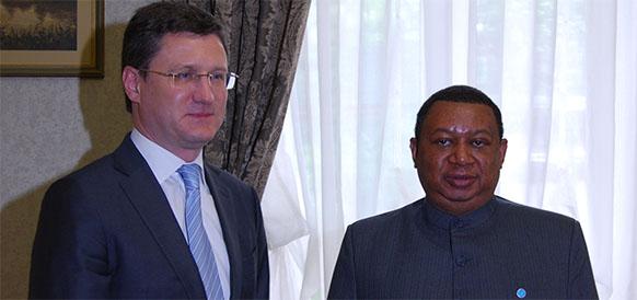 Не только о газе. А. Новак в г Вена обсудил с генсеком ОПЕК текущую ситуацию на рынке нефти