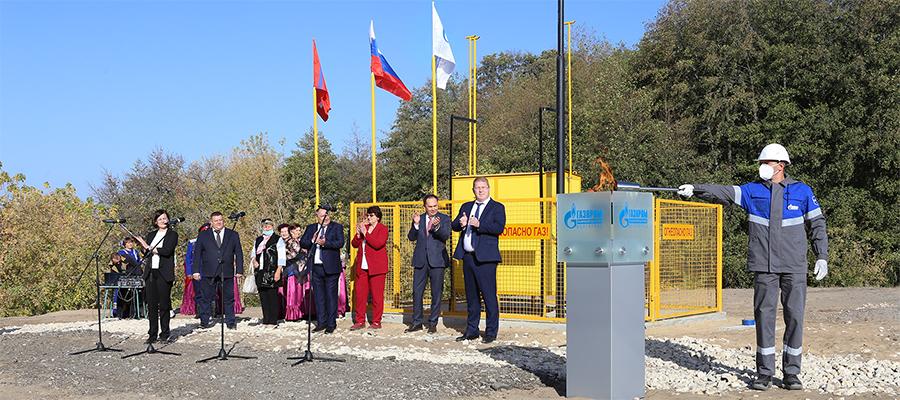В Серафимовичском районе Волгоградской области газифицирован хутор Отрожки