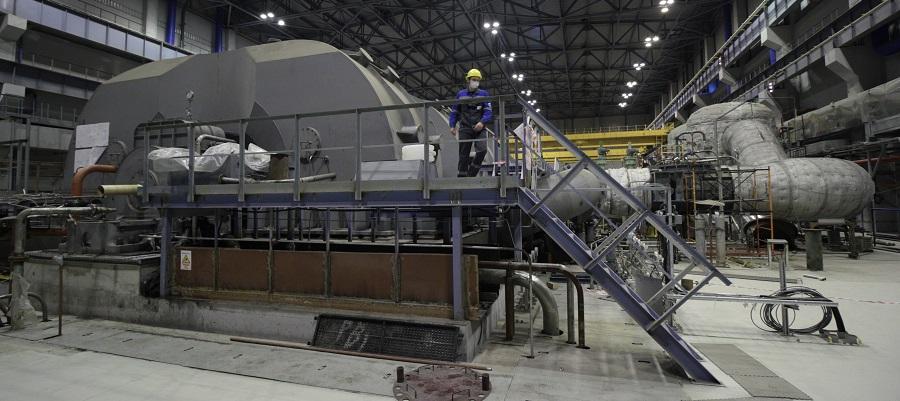На новом энергоблоке Ленинградской АЭС №6 ВВЭР-1200 успешно выполнен пробный пуск турбины
