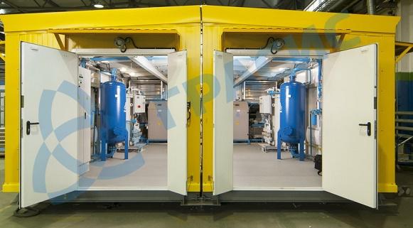2-я воздушная блочная компрессорная станция НПК Грасис изготовлена и отгружена для Сузунского месторождения