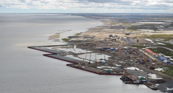 Строительство морского порта Сабетта в ЯНАО может затянутся до конца 2018 г. Очень бы не хотелось