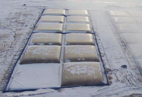 Полиуретан вместо стали, или Эластичные Резервуары морозов не боятся