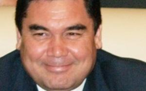 Г.Бердымухамедов. Поздравление участникам церемонии открытия газокомпрессорной станции на месторождении Кеймир