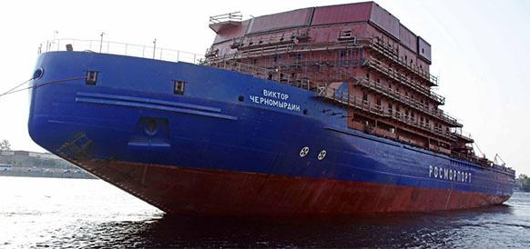 Опять задержка. Дизель-электрический ледокол «Виктор Черномырдин» отправят на ходовые испытания в августе 2019 г.