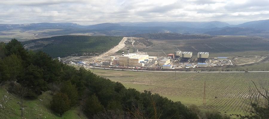 Электростанции Крыма увеличили выработку электроэнергии за 5 месяцев на 165%