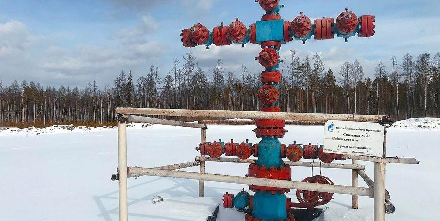 Газпром законсервировал 6 скважин на Собинском месторождении в Красноярском крае