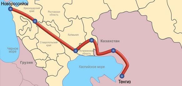Каспийский трубопроводный консорциум выплатил 305 млн долл США долга своим акционерам