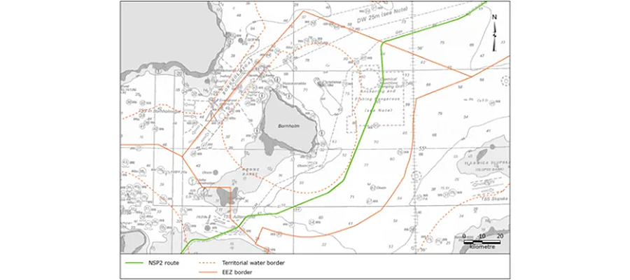Оперативно. ДЭА разрешило Nord Stream 2 достроить датский участок Северного потока-2 судами с якорным позиционированием