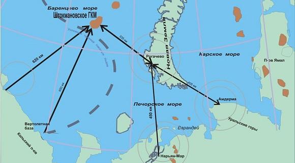 Перезапуск Штокмана. Газпром согласно Программе намерен до 2040 г начать добычу газа на нескольких шельфовых месторождениях