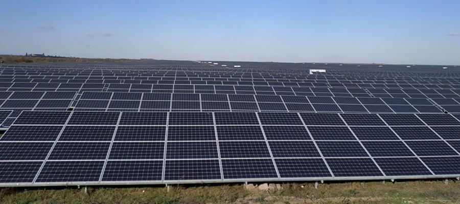 Нафтогаз Украины ввел в эксплуатацию солнечную электростанцию