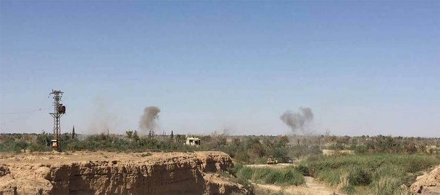 В Сирии беспокойно. Атаки на месторождения на востоке, подрыв нефтепроводов на западе