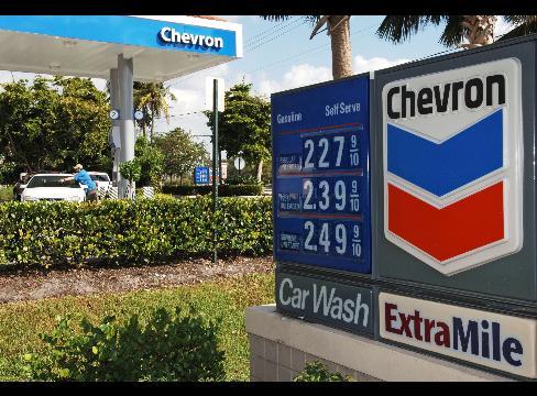 Chevron profits plunge 64%