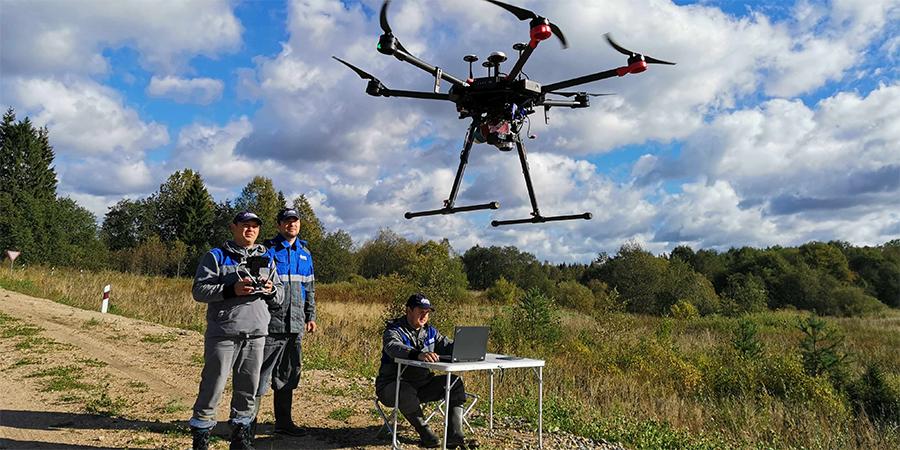 Газпром проектирование внедряет технологию воздушного лазерного сканирования