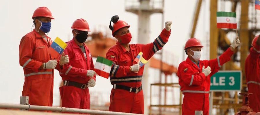 Iran sends 2nd cargo of refinery materials to Venezuela
