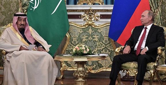 В. Путин и Король. Сальман Бен Абдель Азиз Аль Сауд и глава РФ провели масштабные переговоры и заключили ряд соглашений