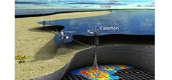 Statoil приступила к разработке североморского месторождения Valemon