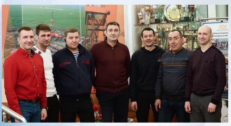 Команда эксплуатационного бурения Томского филиала ССК стала лучшей в конкурсе ООО «Газпромнефть-Восток» по итогам 2018 года