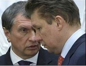 Alexey Miller and Igor Sechin address interaction in oil and gas sector