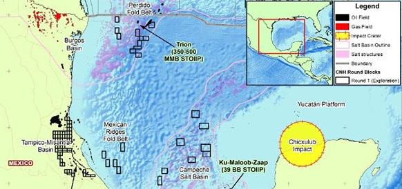 BHP Billiton и Pemex подписали контракт о разработке блока Trion в глубоководной части Мексиканского залива