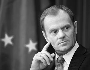 Д. Туск: На монополию Газпрома пора спустить монопсонию ЕС