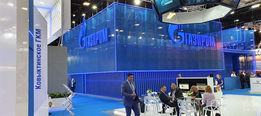 Газпром на ПМГФ-2019 укрепил технологические связи с ведущими зарубежными и российскими предприятиями