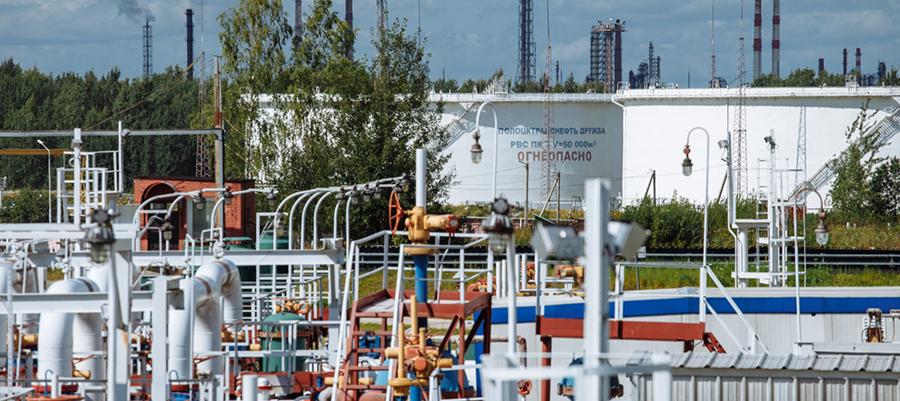 Полоцктранснефть Дружба вытеснила некондиционную нефть из нефтепровода Унеча – Полоцк - 2