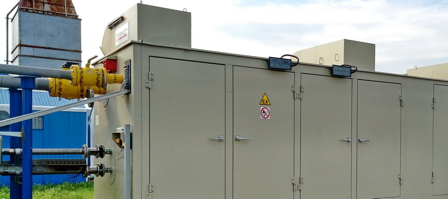 В составе комплекса для испытаний газотурбинных двигателей ОДК-УМПО введена в эксплуатацию газокомпрессорная установка