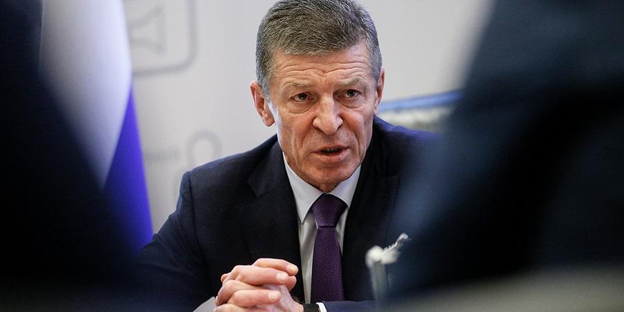 Д. Козак о ситуации с транзитом газа через территорию Украины