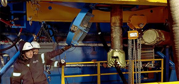 Началось бурение эксплуатационных скважин 1-го пускового комплекса на туронскую газовую залежь Южно-Русского месторождения