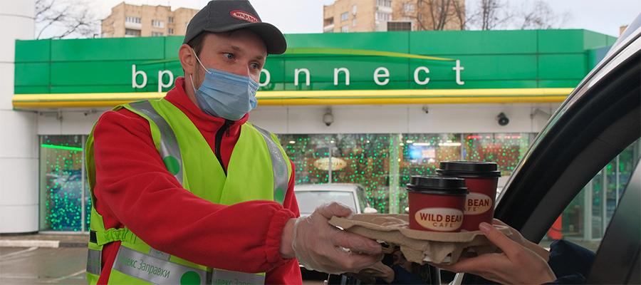 Роснефть и Яндекс запускают сервис доставки еды в автомобиль на АЗС